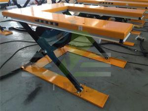 Low Height Stationary Scissor Lift Platform pictures & photos