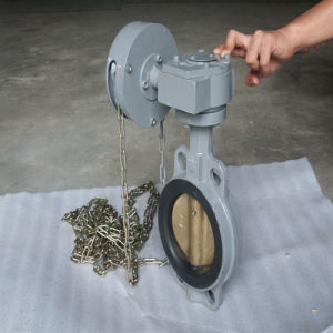 Zipper Butterfly Valve pictures & photos