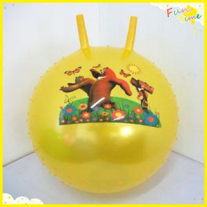 Logo Can Be Designed PVC Horn Ball (YJ004)