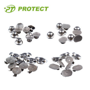 Orthodontic Use Bondable Double Wing Lingual Button