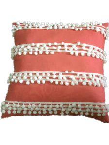 Decorative Cushion Sr-C170213-15 High POM POM Cushion pictures & photos