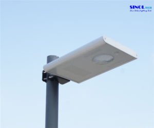 8W LED Sunpower PV Integrated Solar Light for Garden (SNSTY-208) pictures & photos