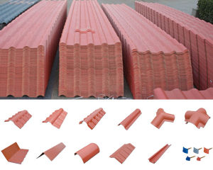 PVC Corrugated Spanish Roof Tiles pictures & photos