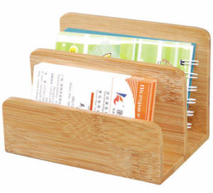 Natural Bamboo Memo Holder / Note Holder / Namecard Holder pictures & photos