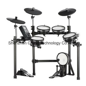 Electronic Drum Set with 5 Drums and 3 Cymbals (D201-1) pictures & photos