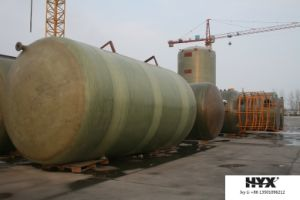 Horizontal FRP Tank for Chemical or Water pictures & photos