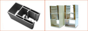 Aluminum Extruded Channel for Roller Shutters pictures & photos