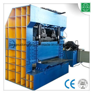 Hydraulic Guillotine Rebar Cutter and Bender Shear pictures & photos