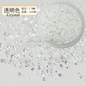 Micro Nail Art Mini Crystal Zircon Rhinestone 1440 PCS Glass Gems (D90) pictures & photos