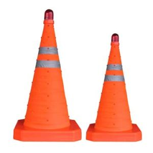PE Stand Reflective Traffic Cone Ys01 pictures & photos