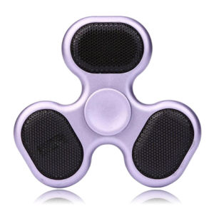 201706 The Newest Fidget Spinner with Loudspeaker Box Design Plastic pictures & photos