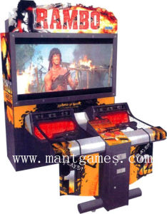 Rambo Shooting Game Arcade Machine Amusement Park Equipment pictures & photos