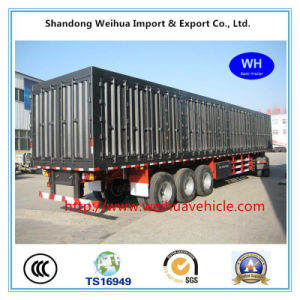 Tri-Axle Van Type Box Trailer Container Semi Trailer From Manufacture pictures & photos
