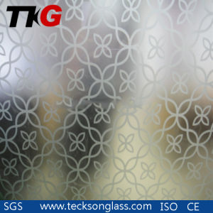 Light Acid Etched, Frosted Glass for Interior Doors Glass pictures & photos