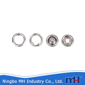 China Wholesale Metal Snap Ring Button pictures & photos