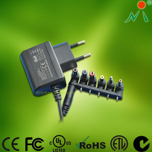 25W EU Plug Adapter with CE, RoHS Switching Power Supply Adapter