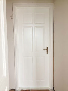 Ritz High Glossy Solid White Modern Interior Doors pictures & photos