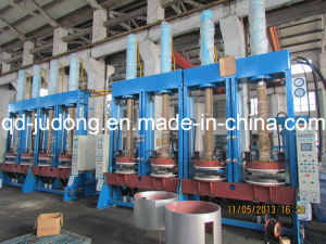 Double Cavity Tire Automatic Shaping and Curing Press pictures & photos