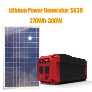 Portable Solar Generator with Inverter for Home Use pictures & photos