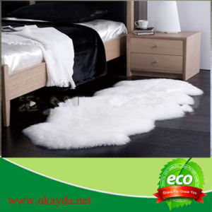 Hotel Design Bedroom Sheepskin 100% Shaggy Modern Rug