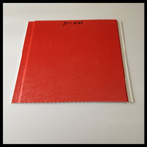 Red Color Lamianted PVC Panel with 250*8mm Design (HN-2523) pictures & photos