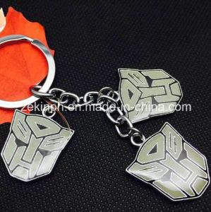 Custom Made Transformer Badge Metal Keychains pictures & photos