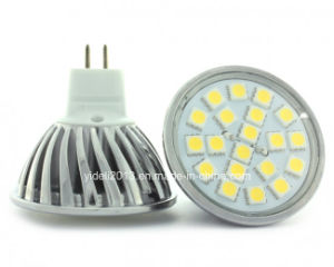 New AC/DC 12V MR16 5050 SMD 3W LED Light Bulb pictures & photos