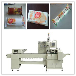 Packaging Machine for on Edge Cookie pictures & photos