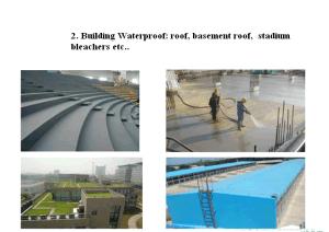 Spray Polyurea Waterproof Coating pictures & photos