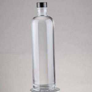 Wholesale 750ml Frosted Printing Wine Liquor Spirit Glass Bottle, Vodka Glass Bottle pictures & photos