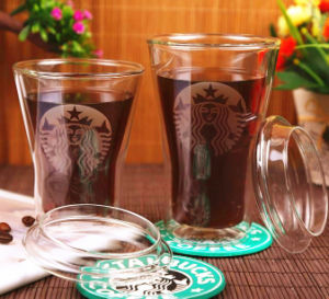 Double Wall Borosilicate Glass Mug Coffee Cup 200- 400ml Coffee Mug pictures & photos