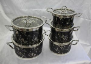 Fashion Design Stainless Steel Cooking Pot Cookware Set pictures & photos