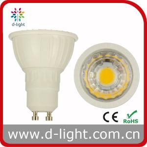 Warm White Ra80 COB Chip GU10 3W LED Spot Light