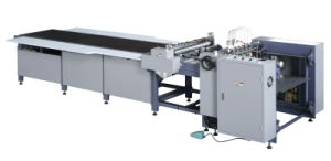 Sheet Gluing Machine with Feeder pictures & photos