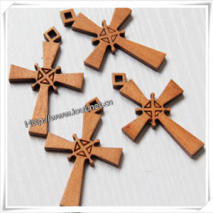 Handmade Standing Making Wooden Cross Wholesale (IO-cw008) pictures & photos