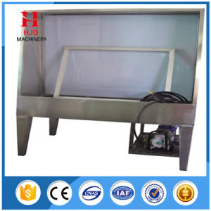 Manual Washout Booth with Backlight with Hjd-I pictures & photos