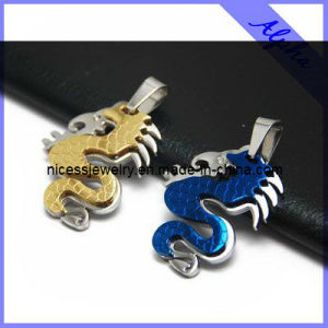 Fashion Dragon Design Stainless Steel Pendant for Men (AP14)