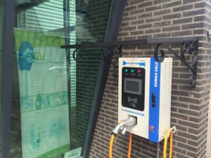 20kw Wall-Mounted DC Fast Electric Vehicle EV Charging Station pictures & photos