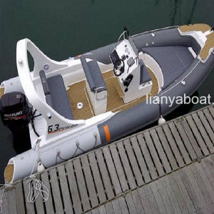 Liya 20ft Military Patrol Boat Inflatable Motor Boat for Sale pictures & photos