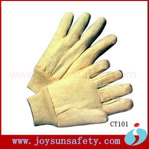 Cotton Gloves Safety Cotton Working Glove (CT101, 102)