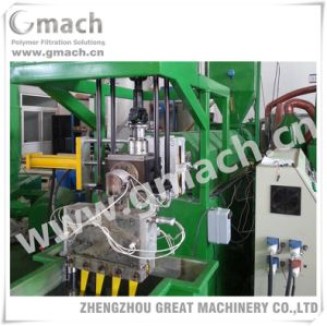 Pet Strap Extrusion Line Used Plate Type Continuous Screen Changer and Melt Gear Pump pictures & photos