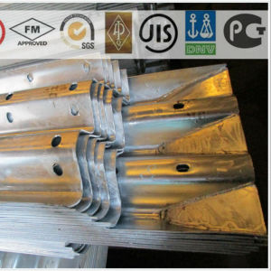 Hot DIP Galvanized Steel Highway Guard Rail pictures & photos