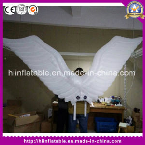 White Wings Inflatable Costume for Parade Gala Carnival Event