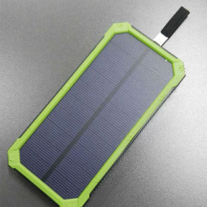 10000mAh Solar Portable Power Phone Charger for Phone and DV Camera pictures & photos