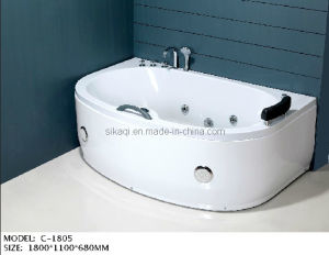 Comfortable Jacuzzi Bathtub with Sleek Design pictures & photos