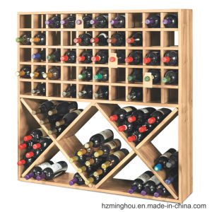 Rustic Classical Wood Cabinet Wine Cube for Wine Storage Furniture pictures & photos