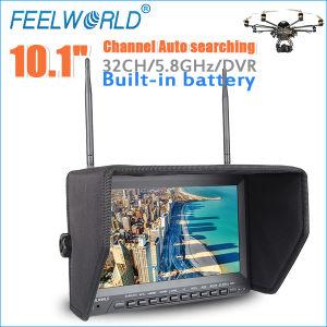 10.1inch Monitor Built-in Wireless 5.8GHz AV Receiver Fpv Quadcopter