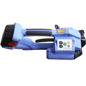 Battery Powered Packing Tool Strapping Machine for PP/Pet Straps pictures & photos