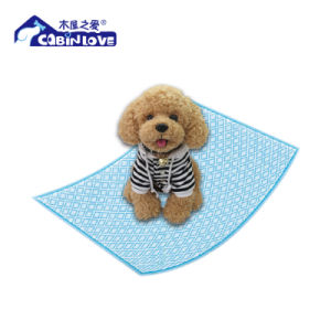 Cabin Love Disposable PE Puppy Pet Trainning Pad pictures & photos