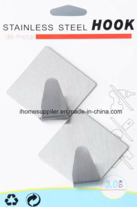 H1019 Self Adhesive Hook Diamond Shape Hanging Hook
